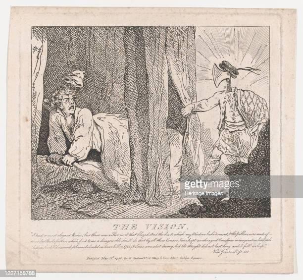 The Vision May 15 1786 Artist Thomas Rowlandson