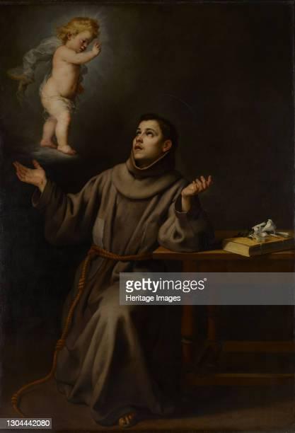 The Vision of St Anthony of Padua, 1652. Artist Bartolomé Esteban Murillo.