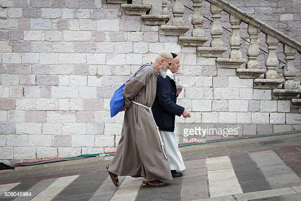 The visit of Pope Francis in Assisi, the city of St. Francis, patron of Italy. Moments and faces of the people that have participated in the visit....