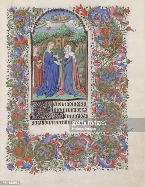 The Visitation 14401460 Found in the collection of the The Morgan Library Museum New York