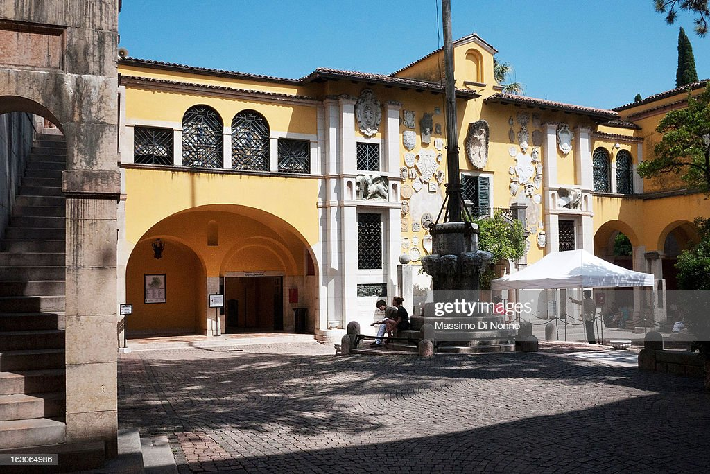 Places To Visit: Garda Lake And Vittoriale Museum : News Photo