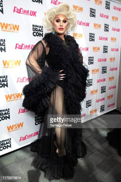 The Vivienne attends RuPaul's DragCon 2019 at The Jacob K Javits Convention Center on September 08 2019 in New York City