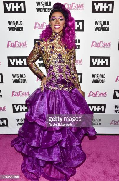 The Vixen attends VH1's 'RuPaul's Drag Race' Season 10 Finale at The Theatre at Ace Hotel on June 8 2018 in Los Angeles California