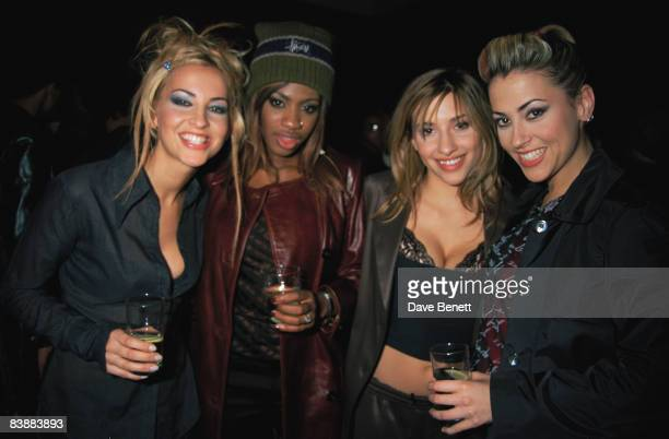 The vocal group All Saints attend the MOBO Awards at the New Connaught Rooms in London 10th November 1997
