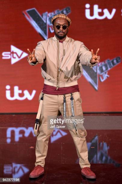 The Voice Judge william attends the prefinal event for 'The Voice' at Elstree Studios on April 5 2018 in Borehamwood England