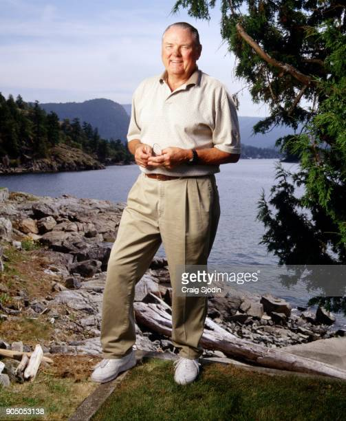 the 'voice' of college football for the past 32 years relaxes during the offseason in the mountains of Vancouver British Columbia Jackson returns for...