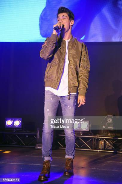 The Voice of Germany Talent Miguel Fialho performs the Stylorama on November 18 2017 in Dortmund Germany