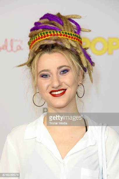 The Voice of Germany Talent Natia Todua attends the Stylorama on November 18 2017 in Dortmund Germany