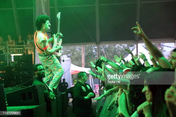 The Voidz perform onstage for Day 1 of 2019 Governors Ball Music Festival at Randall's Island on May 31 2019 in New York City