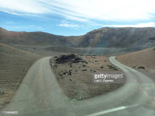 The volcanos route, Tranquility valley. Timanfaya
