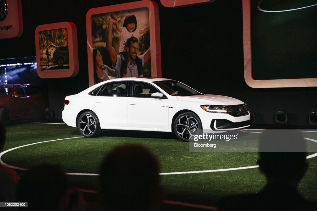 North American International Auto Show 2020.The Volkswagen Ag 2020 Passat Sedan Is Displayed During The