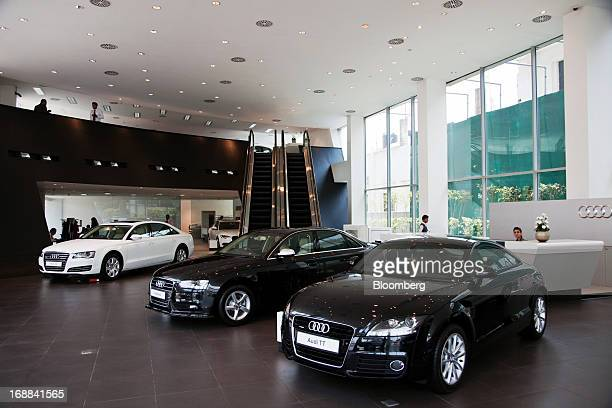 Audi India Stock Photos And Pictures Getty Images - Audi car dealers