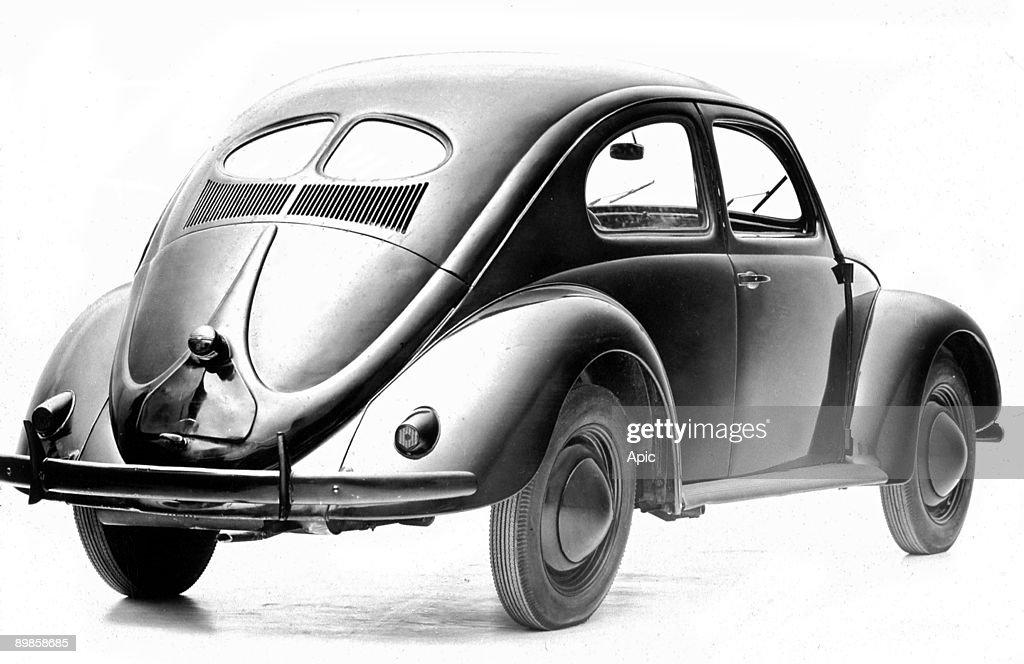 The Volkswagen Beetle 1940 Car In News Photo