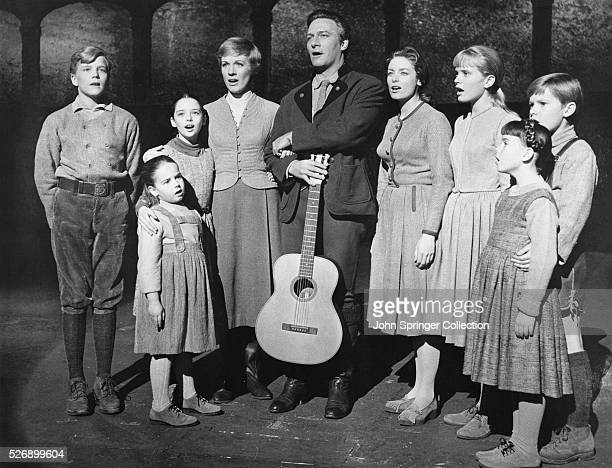 The Von Trapp family singing from the 1965 film The Sound of Music