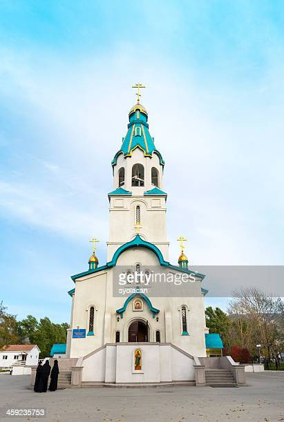 the voskresensky cathedral - syolacan stock pictures, royalty-free photos & images