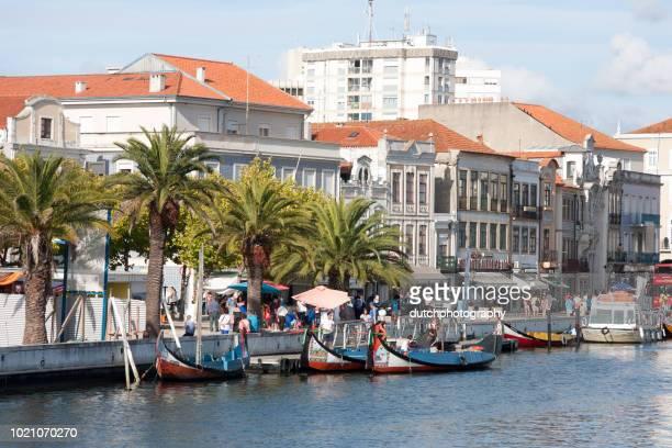 アヴェイロ, ポルトガル - うえでの川 - アヴェイロ県 ストックフォトと画像