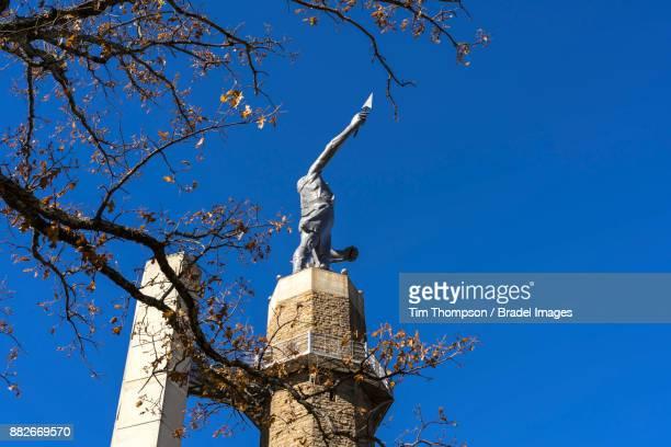 The Vulcan statue at Vulcan Park in Birmingham, Alabama.