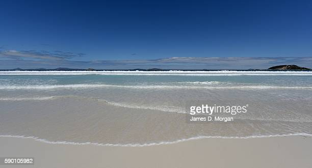 The WA town of Esperance and the magnificent beaches of Cape Le Grand National Park close by on February 16 2016 in Esperance Western Australia Also...
