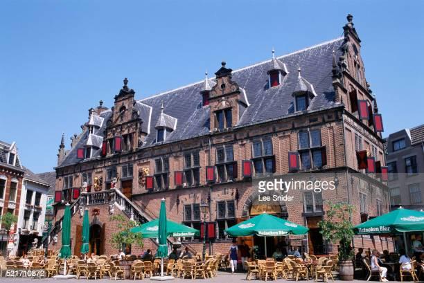 The Waag Building in Nijmegen in the Netherlands