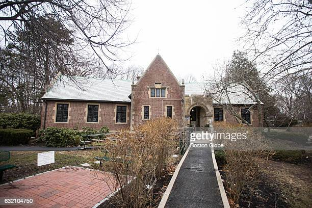 The Waban Library Center in the Waban Village of Newton MA is pictured on Jan 17 2016