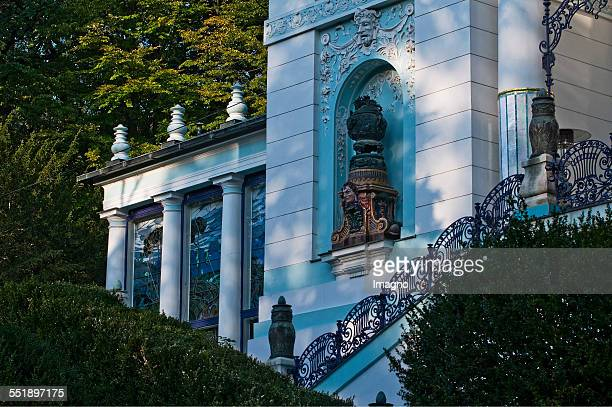 The Wagner Villa was built and designed 1888 by Otto Wagner Located Huettelbergstrasse 26 district 14 The villa is owned By painter Ernst Fuchs and...