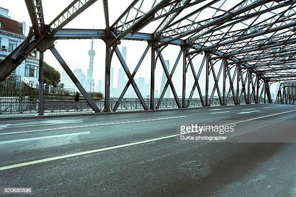 The Waibaidu Bridge in Shanghai