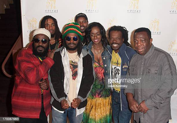 The Wailers attend 8th Annual Sounding Off For a Cure Benefit Concert at Hammerstein Ballroom on June 6 2013 in New York City