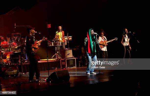 The Wailers perform during The Wailers 30th Anniversary Performance at The Apollo Theater on November 29 2014 in New York City