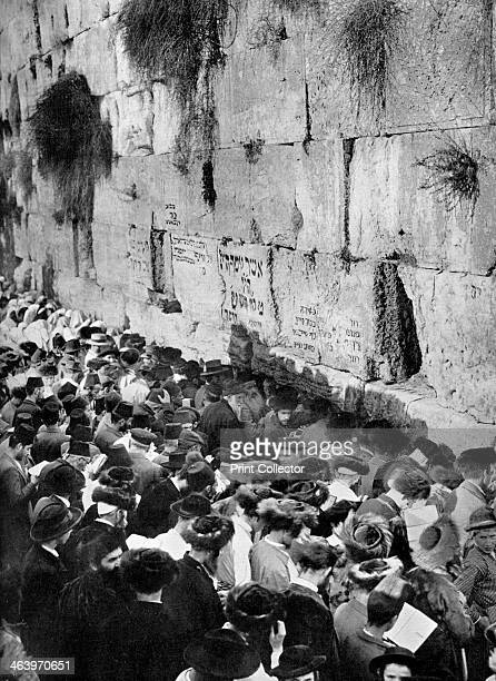 The Wailing Wall Jerusalem The wall also known as the Western Wall is the only remnant of the Temple in Jerusalem the holiest building in Judaism A...