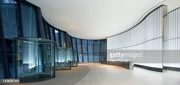 The WalbrookLondonUnited Kingdom Architect Foster And Partners The Walbrook Foster Partners London 2009 Lobby With Revolving Doors