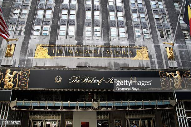 The Waldorf-Astoria Hotel in New York, New York on AUG 05, 2011.