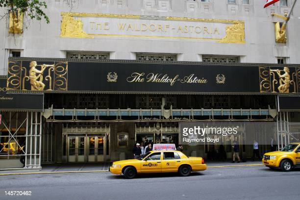 The Waldorf-Astoria Hotel, in New York, New York on MAY 11, 2012.