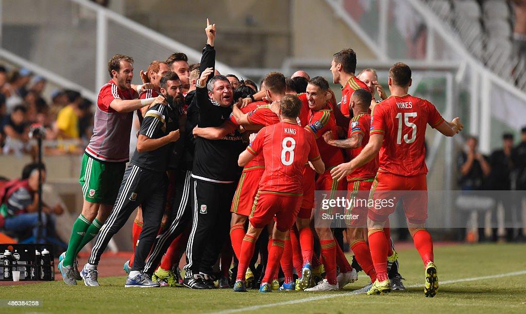 Cyprus v Wales - UEFA EURO 2016 Qualifier : News Photo