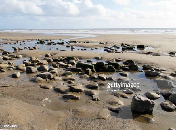 The Wales Coast Path in Carmarthenshire: Telpyn Beach