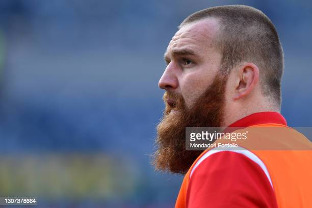 The Wales player Jake Ball during the Italy-Wales match of the Six Nations tournament at the stadio Olimpico. Rome , 13 March, 2021