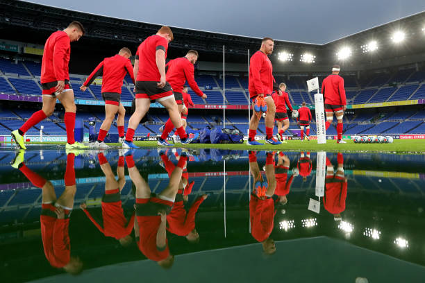 JPN: Wales Captain's Run