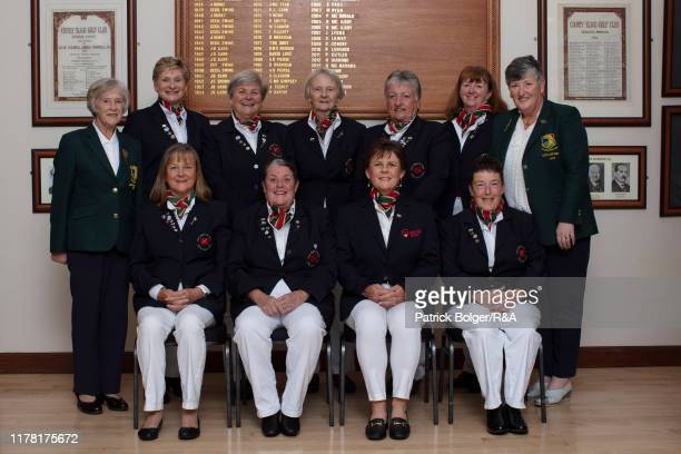 The Wales Team Jane Rees Vicki Thomas Julie Thomas Sharon Roberts Rita Walsh Jane Hallows Patricia Fernon OBE Ann Lewis and Denise Richards and Mary...