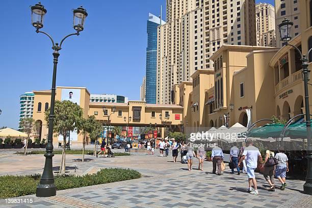 The Walk at Jumeirah Beach Residence, Dubai Marina, Dubai, United Arab Emirates
