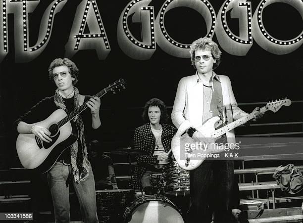 The Walker Brothers perform 'No Regrets' on a German TV show in 1975 LR Scott Engel Gary Leeds John Maus
