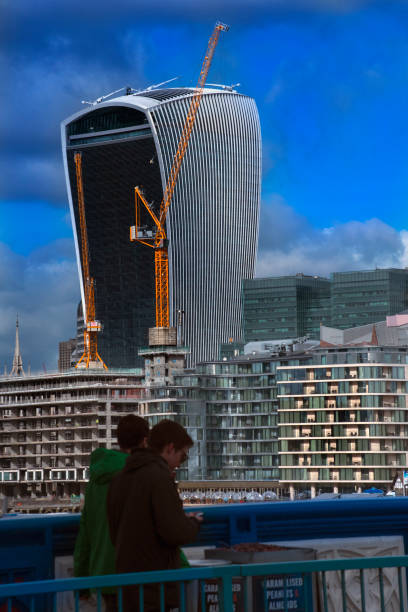 The Walkie Talkie Building and other London Landmarks