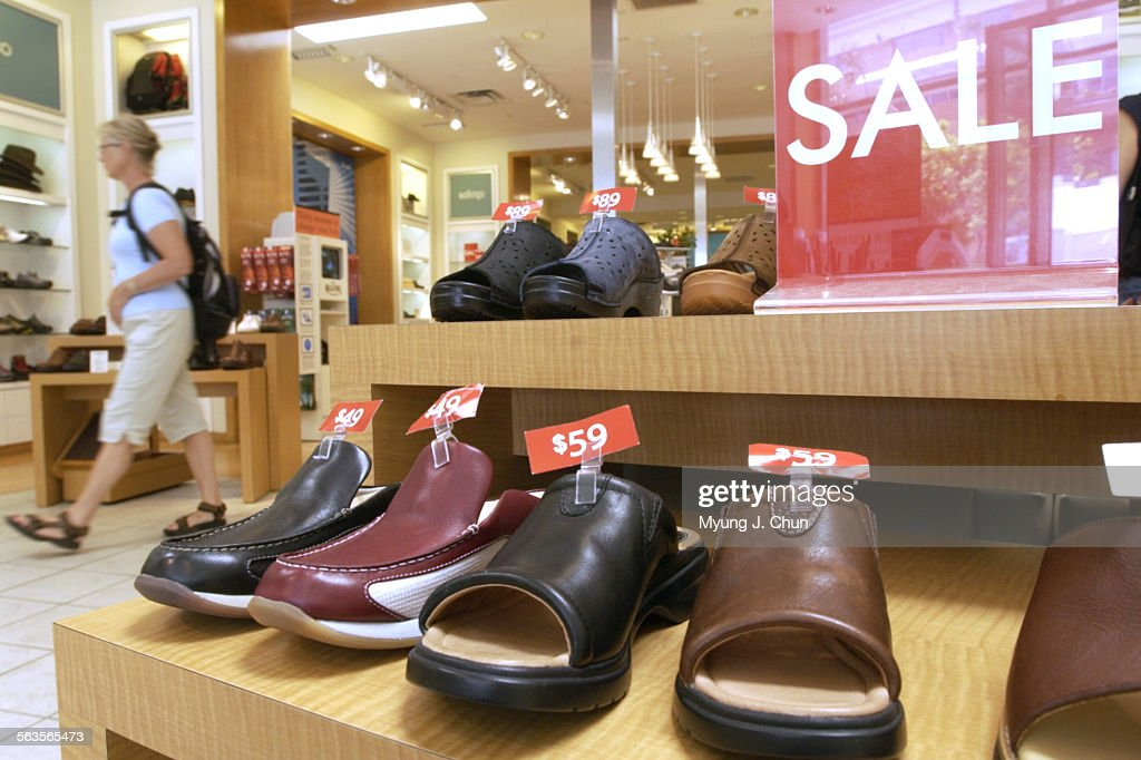 The Walking Company, a seller of high–end comfort shoes, filed for bankruptcy protection last week a : News Photo