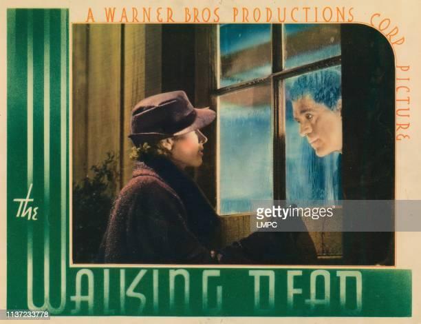 The Walking Dead lobbycard Marguerite Churchill Boris Karloff 1936