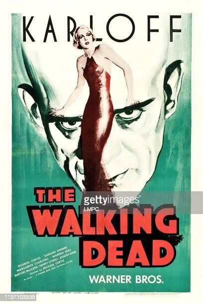 The Walking Dead poster Boris Karloff 1936