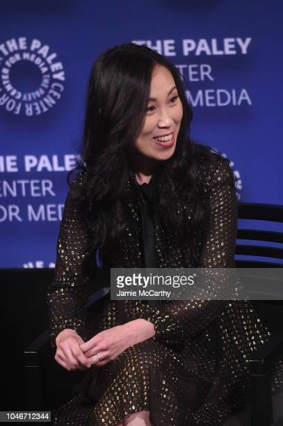 'The Walking Dead' showrunner Angela Kang speaks onstage during PaleyFest NY The Walking Dead screening and panel at The Paley Center For Media on...