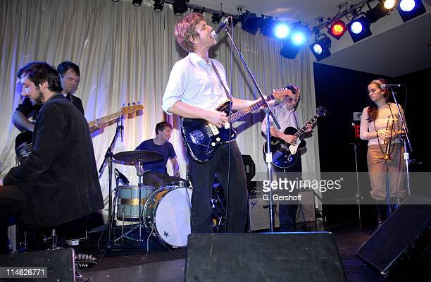 The Walkmen during AOL Music's The DL at The Canal Room in New York City New York United States