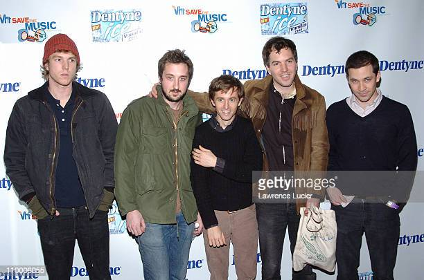 The Walkmen during Live It Loud with Dentyne Presents The Walkmen and Ben Kweller to Benefit the VH1 Save the Music Foundation at Irving Plaza in New...