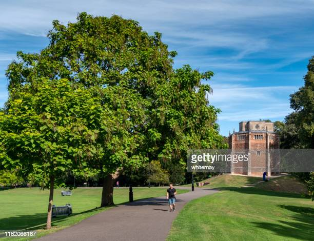 the walks with red mount chapel in king's lynn, norfolk - king's lynn stock pictures, royalty-free photos & images