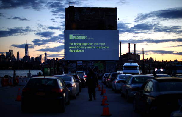 NY: The Wall Street Journal's Future of Everything Festival Drive-In, Proudly Sponsored by Lexus