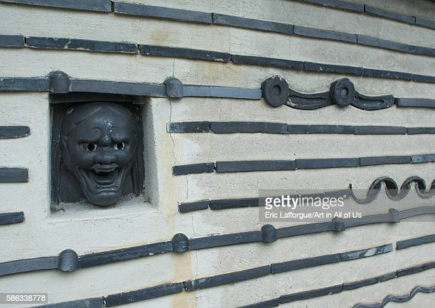 The wall surrounding kotoin temple in the daitokuji temple complex kansai region kyoto Japan on May 25 2016 in Kyoto Japan