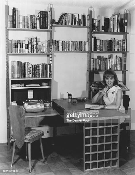AUG 16 1967 AUG 20 1967 The wall unit shown here with actress Charlene Holt provides an amazing amount of storage space and at the same time is a...